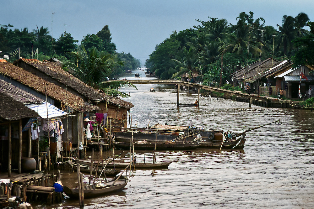 Water ways of the Mekong Delta.