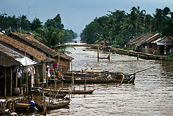 Water ways of the Mekong Delta.