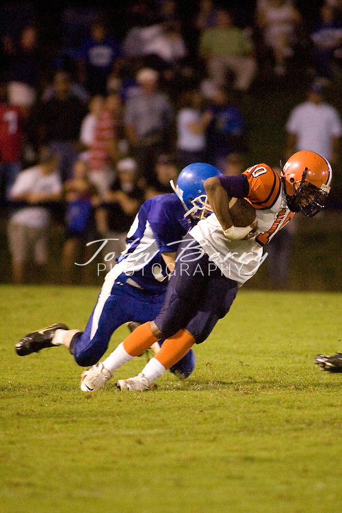 MCHS Varsity Football.vs Orange.August 24, 2007