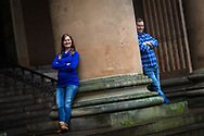 Lifestyle portraits taken in Copenhagen, of American couple Amy and Bruce