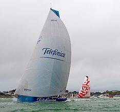 Auckland-Volvo Ocean Race-Yachts arrive