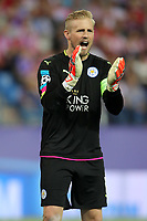 Leicester City FC's Kasper Schmeichel during Champions League 2016/2017 Quarter-finals 1st leg match. April 12,2017. (ALTERPHOTOS/Acero)