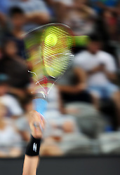 SYDNEY, Jan. 8, 2018  Lleyton Hewitt of Australia serves during the FAST4 of Sydney International against Grigor Dimitrov of Bulgaria in Sydney, Australia, on Jan. 8, 2018. Hewitt lost 0-2. (Credit Image: © Bai Xuefei/Xinhua via ZUMA Wire)