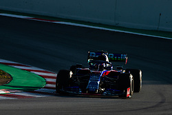 February 28, 2019 - Montmelo, BARCELONA, Spain - Alexander Albon from Thailand 23 Scuderia Toro Rosso Honda in action during the Formula 1 2019 Pre-Season Tests at Circuit de Barcelona - Catalunya in Montmelo, Spain on February 28. (Credit Image: © AFP7 via ZUMA Wire)