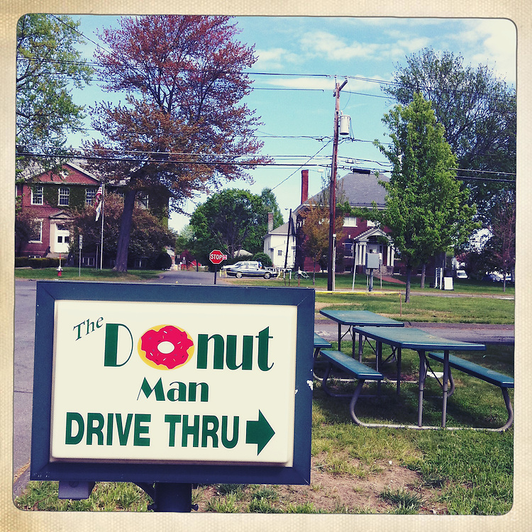 The Donut Man Drive Thru