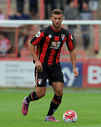 Bournemouth's Andrew Surman - Photo mandatory by-line: Harry Trump/JMP - Mobile: 07966 386802 - 18/07/15 - SPORT - FOOTBALL - Pre Season Fixture - Exeter City v Bournemouth - St James Park, Exeter, England.