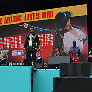 Thriller Live, performs at West End Live 2019 - Day 2 in Trafalgar Square, on 23 June 2019, London, UK.