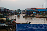 The floating village of Kampong Phluk, Cambodia.