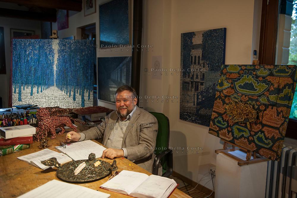 Venezia - Comunità ebraica di Venezia. Tobia Ravà, artista.