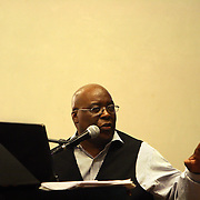 Pianist Grenoldo Frazier performs Thursday September 5, 2013 at Cameron Art Museum in Wilmington, N.C.  (Jason A. Frizzelle)