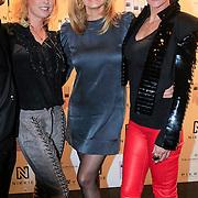 NLD/Amsterdam/20130205 - Modeshow Nikki Plessen 2013, Bridget Maasland, Natasja Froger en Monique des Bouvrie