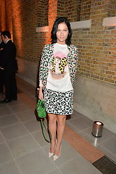 LEIGH LEZARK at the Future Contemporaries Party in association with Coach at The Serpentine Sackler Gallery, West Carriage Drive, Kensington Gardens, London on 21st February 2015.