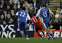 Photo: Lee Earle.<br /> Reading v Liverpool. Carling Cup. 25/09/2007. Liverpool's Yossi Benayoun (C) scores their opening goal.
