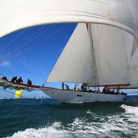2015, Round the Island Race, Eleanora, J P Morgan Round the Island Race, Eleonora, Cowes, Isle of Wight, UK, Sports Photography