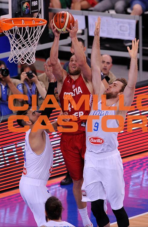 DESCRIZIONE: Torino FIBA Olympic Qualifying Tournament Italia - Croazia<br /> GIOCATORE: BOJAN BOGDANOVIC<br /> CATEGORIA: Nazionale Italiana Italia Maschile Senior<br /> GARA: FIBA Olympic Qualifying Tournament Italia - Croazia<br /> DATA: 05/07/2016<br /> AUTORE: Agenzia Ciamillo-Castoria