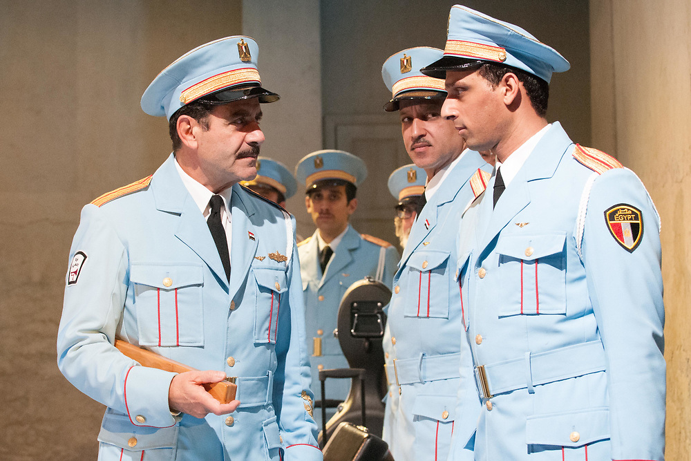 Tony Shalhoub, Alok Tewari & Ari'el Satchel: The Band's Visit - Behind the scenes and Production photos from the original Atlantic Theater Company Off Broadway production