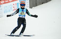 Yuki Ito of Japan during Team Competition at Day 2 of World Cup Ski Jumping Ladies Ljubno 2019, on February 9, 2019 in Ljubno ob Savinji, Slovenia. Photo by Matic Ritonja / Sportida