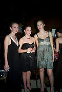 ALEX REES, EMMA REES AND NATASHA HULSE The 2008 Berkeley Dress Show in aid of the Leonard Cheshire Disability ( India) . The Royal Hospital, Chelsea. London. 3 April 2008.  *** Local Caption *** -DO NOT ARCHIVE-© Copyright Photograph by Dafydd Jones. 248 Clapham Rd. London SW9 0PZ. Tel 0207 820 0771. www.dafjones.com.