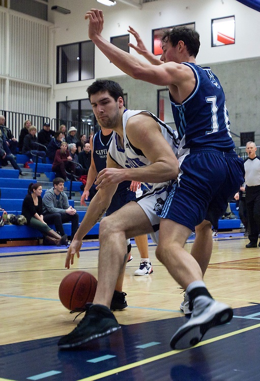 Camosun College Basketball male basketball team plays at the Pacific Institute for Sport Excellence in Victoria, British Columbia Canada.