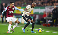 Football - 2019 / 2020 Premier League - Burnley vs. Manchester United<br /> <br /> Ashley Young of Manchester United and Dwight McNeil of Burnley at Turf Moor.<br /> <br /> COLORSPORT