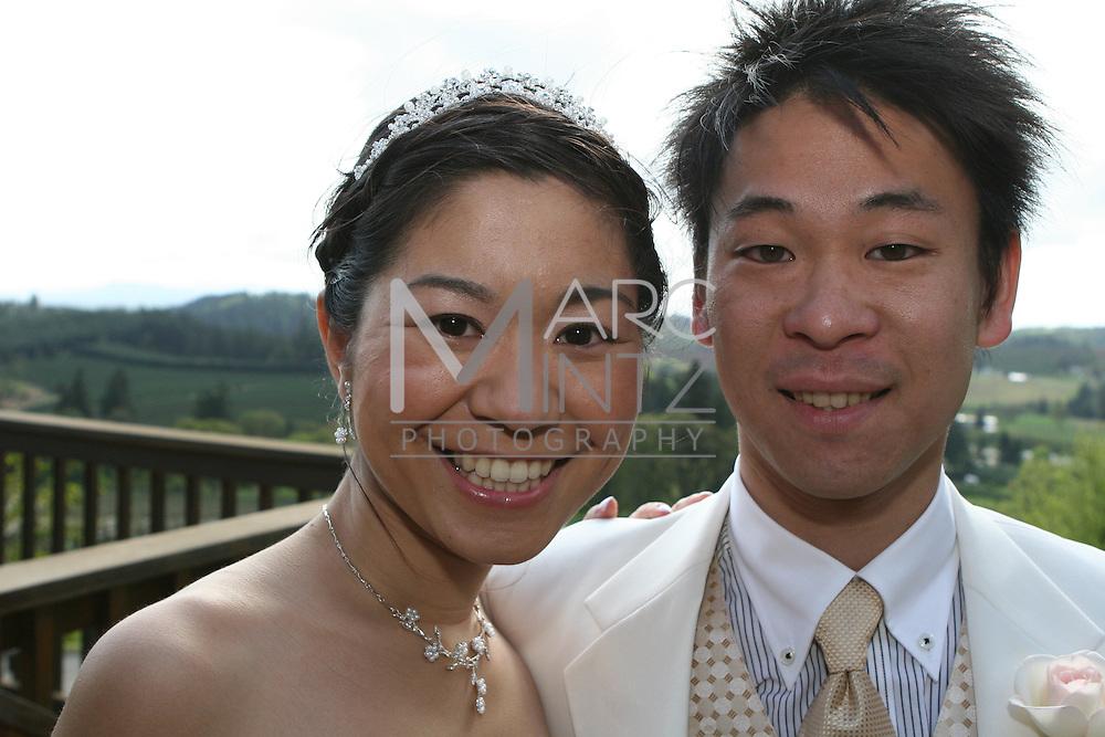 sayaka and tomo's oregon wedding