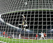 Iker Casillas makes a save as Spain play Italy in the Semi Final of Euro 2008. 22.06.2008