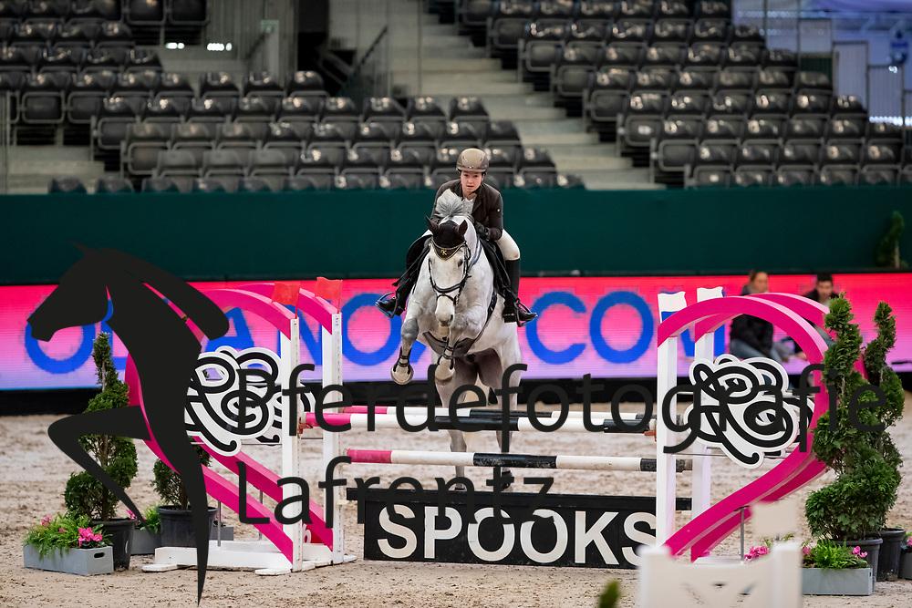 HÄSLER Emilia (GER), Coreana H<br /> Leipzig - Partner Pferd 2019<br /> SPOOKS-Amateur Trophy<br /> Small Tour<br /> 18. Januar 2019<br /> © www.sportfotos-lafrentz.de/Stefan Lafrentz
