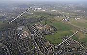 aerial photograph of Handsworth Sheffield West Yorkshire England UK
