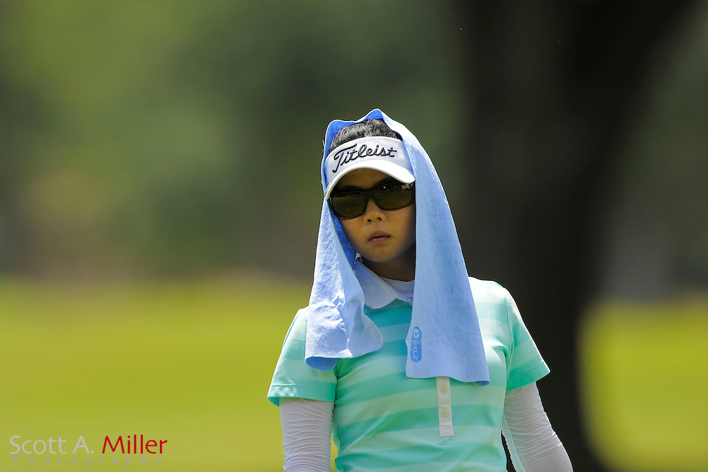 Sue Kim during the final round of the Symetra Tour's Guardian Retirement Championship at Sara Bay in Sarasota, Florida April 28, 2013. ..©2013 Scott A. Miller