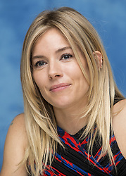 December 6, 2016 - Hollywood, California, U.S. - SIENNA MILLER promotes 'Live By Night.' Sienna Rose Diana Miller (born December 28, 1981) is a British-American actress, model, and fashion designer. In 2008, she was nominated for the BAFTA Rising Star Award, while for her role as Tippi Hedren in the 2012 TV film The Girl, she was nominated for a BAFTA TV Award for Best Actress and a Golden Globe Award for Best Actress. Her film roles include the crime thriller Layer Cake (2004), the comedy Alfie (2004), the biopic Factory Girl (2006), the drama The Edge of Love (2008) and the military science fiction action film G.I. Joe: The Rise of Cobra (2009). In 2014, she starred in two biographical dramas, Foxcatcher, playing Nancy Schultz, and American Sniper, portraying Taya Renae Kyle.Upcoming: The Current War (2017), Live by Night (2016), Hippie Hippie Shake (2016) (Credit Image: © Armando Gallo via ZUMA Studio)