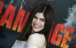 Rampage Premiere at The Microsoft Theatre in Los Angeles, California on 4/4/18. 04 Apr 2018 Pictured: Alexandra Daddario. Photo credit: River / MEGA TheMegaAgency.com +1 888 505 6342