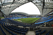 A general view of the stadium before the EFL Sky Bet Championship match between Brighton and Hove Albion and Fulham at the American Express Community Stadium, Brighton and Hove, England on 26 November 2016.