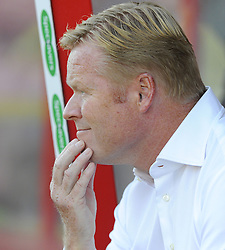 Southampton Manager, Ronald Koeman - Photo mandatory by-line: Joe Meredith/JMP - Mobile: 07966 386802 21/07/2014 - SPORT - FOOTBALL - Swindon - County Ground - Swindon Town v Southampton