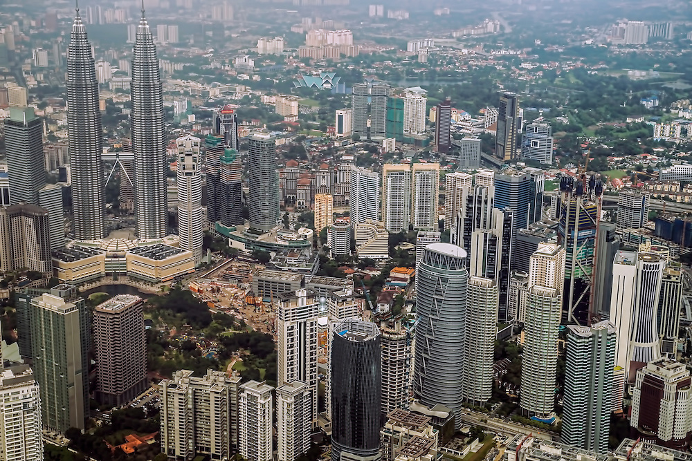 Petronas Towers & KL Commercial District