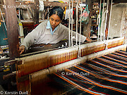 Burmans skilled at weaving have slightly better opportunities to make a modest living than other refugees in Mizoram. <br /> Refugees from Burma - Myanmar in Mizoram, Northeast India, 2006-2008