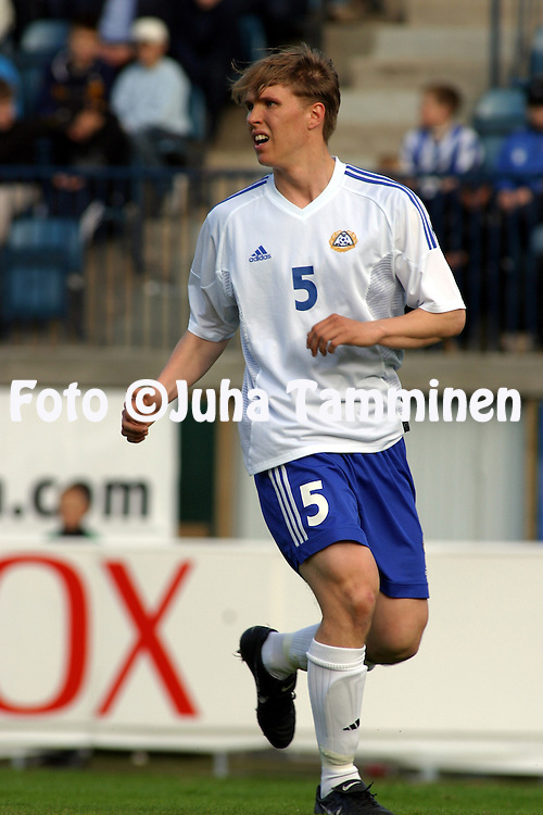 06.06.2003, Veritas Stadion, Turku, Finland.UEFA Under-21 European Championship Qualifying match, Finland v Serbia and Montenegro.Ari Nyman - Finland.©Juha Tamminen