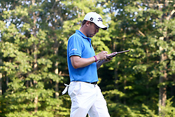 September 4, 2017 - Norton, Massachusetts, United States - Justin Thomas walks the 18th hole during the final round of the Dell Technologies Championship at TPC Boston. (Credit Image: © Debby Wong via ZUMA Wire)