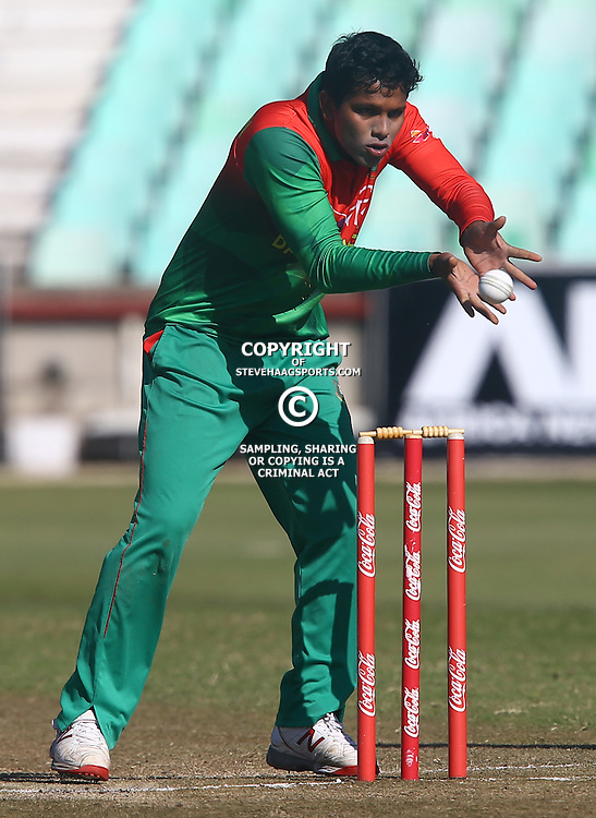 DURBAN, SOUTH AFRICA ,Sunday 19th July, Md Shaifuddin of Bangladesh during the  South African under 19s vs the Bangladesh under 19s Cricket Series the last ODI match at Sahara Stadium Kingsmead Sunday 19th July Durban (Photo by Steve Haag)