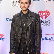ZEDD walks the red carpet at the Hot 99.5 Jingle Ball at the Verizon Center in Washington, D.C.
