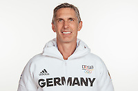 Ralf Benkow poses at a photocall during the preparations for the Olympic Games in Rio at the Emmich Cambrai Barracks in Hanover, Germany, taken on 12/07/16 | usage worldwide