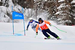 Downhill, GALLAGHER Kelly Guide: SMITH Gary, B3, GBR at the WPAS_2019 Alpine Skiing World Championships, Kranjska Gora, Slovenia