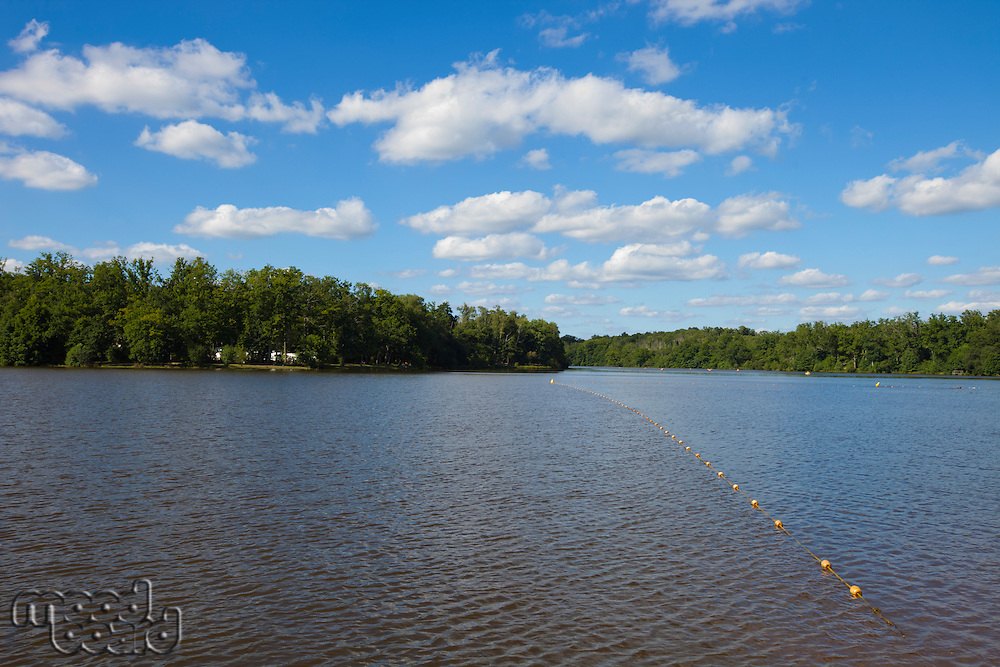 View peaceful lake