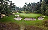 HILVERSUM - green hole 14. pannenkoek, par 3.  Hilversumsche Golf Club, COPYRIGHT  KOEN SUYK