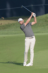 August 10, 2018 - Town And Country, Missouri, U.S - KYLE STANLEY from Gig Harbor Washington, USA hits from the fairway on hole number four during round two of the 100th PGA Championship on Friday, August 10, 2018, held at Bellerive Country Club in Town and Country, MO (Photo credit Richard Ulreich / ZUMA Press) (Credit Image: © Richard Ulreich via ZUMA Wire)