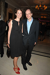 ALAIN & CHARLOTTE DE BOTTON at a party to celebrate the 180th Anniversary of The Spectator magazine, held at the Hyatt Regency London - The Churchill, 30 Portman Square, London on 7th May 2008.<br /><br />NON EXCLUSIVE - WORLD RIGHTS