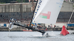29th May 2011 Istanbul Turkey, Extreme Sailing Series, Racing on the Bosphorus