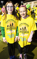 Shona Mclarkey and Kate Kidd  at the Kinvara Darkness into Light walk in Kinvara in aid of Pieta House  :<br />  Photo:Andrew Downes, XPOSURE