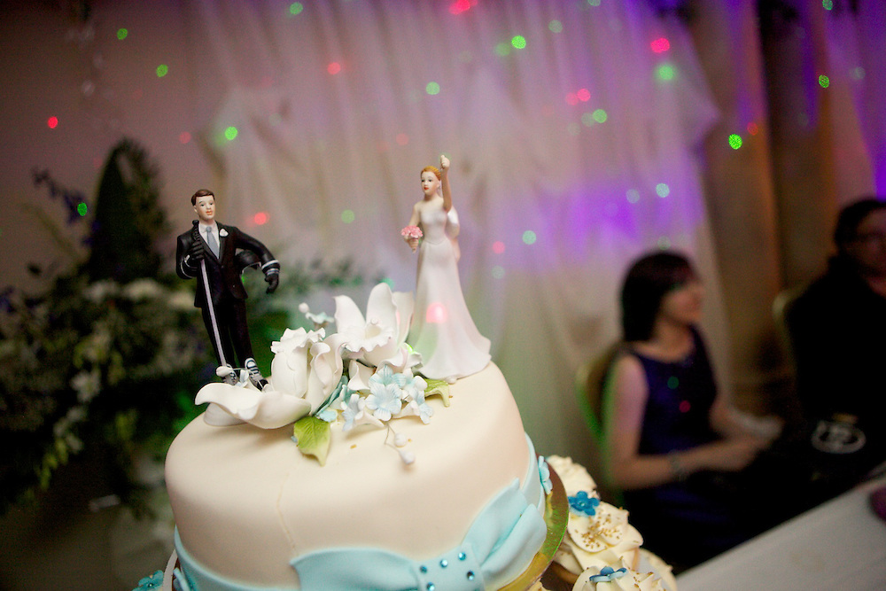 Pierre et Veronica ce?le?bres leur marriage le  4 Septembre, 2010