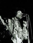 Jimi Hendrix, Anaheim Convention Center, 1968