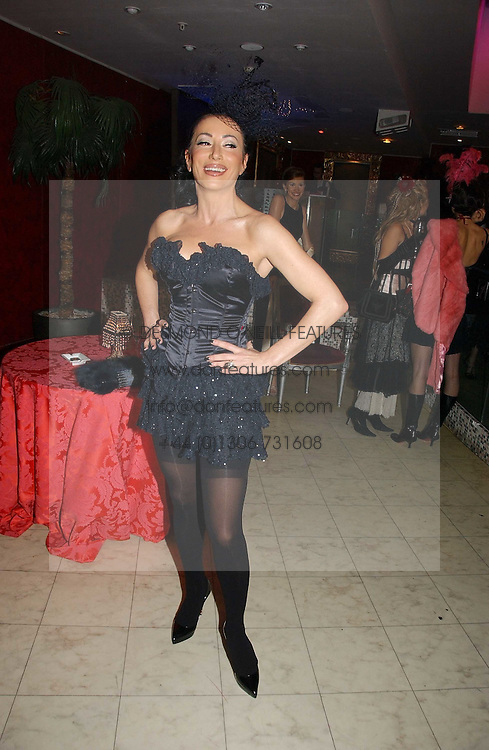 NANCY DELL'OLIO at Andy &amp; Patti Wong's annual Chinese New year Party, this year to celebrate the Year of The Pig, held at Madame Tussauds, Marylebone Road, London on 27th January 2007.<br />